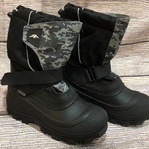 Tundra Snow Boots Boys Size 6
